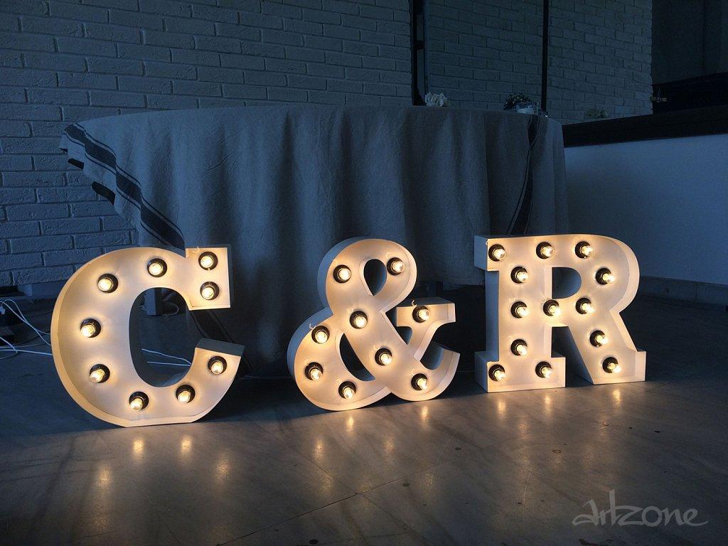 Букви с крушки