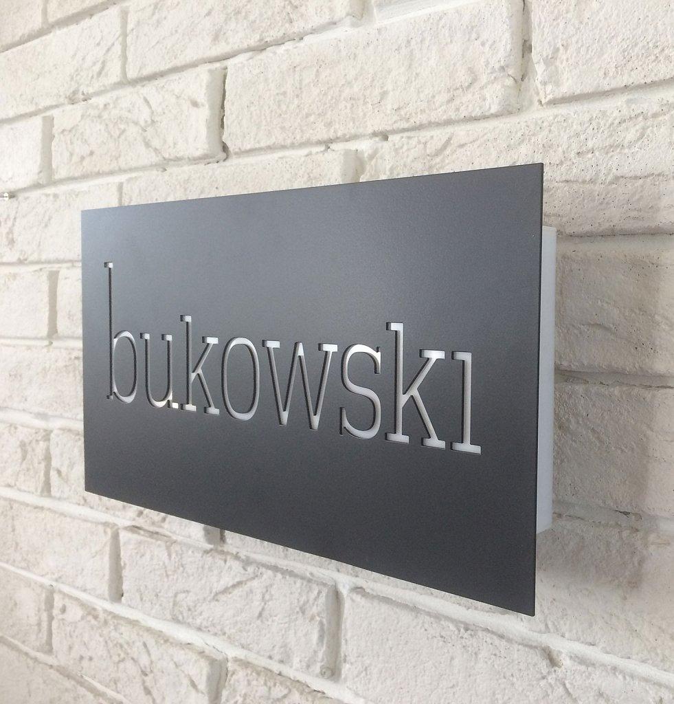 Светеща табела за бар BUKOWSKI