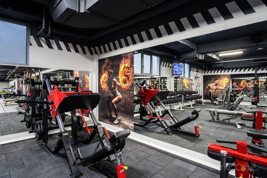 Брандиране на фитнес зала