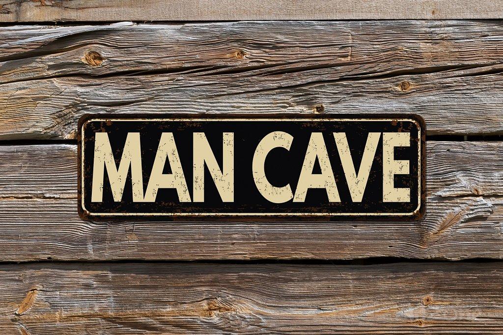 Табела подарък за мъж MAN CAVE