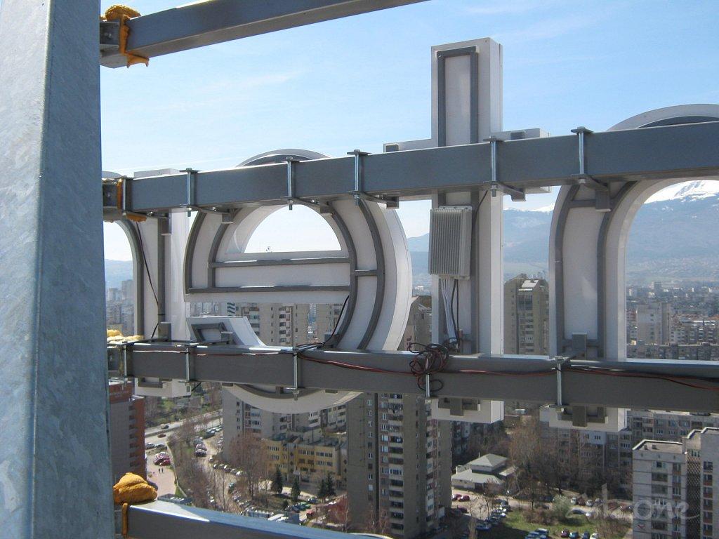 Покривна конструкция в София