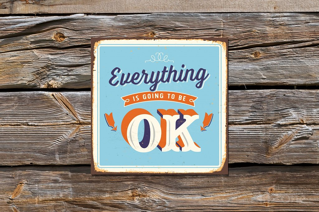 Everything is OK sign