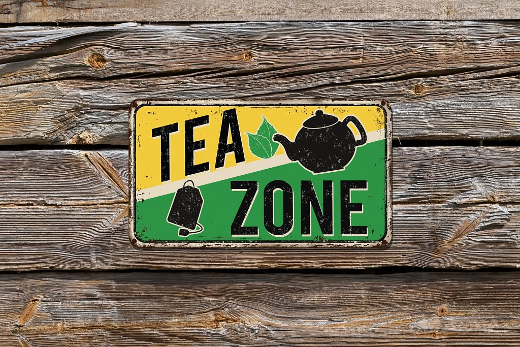 tea zone sign