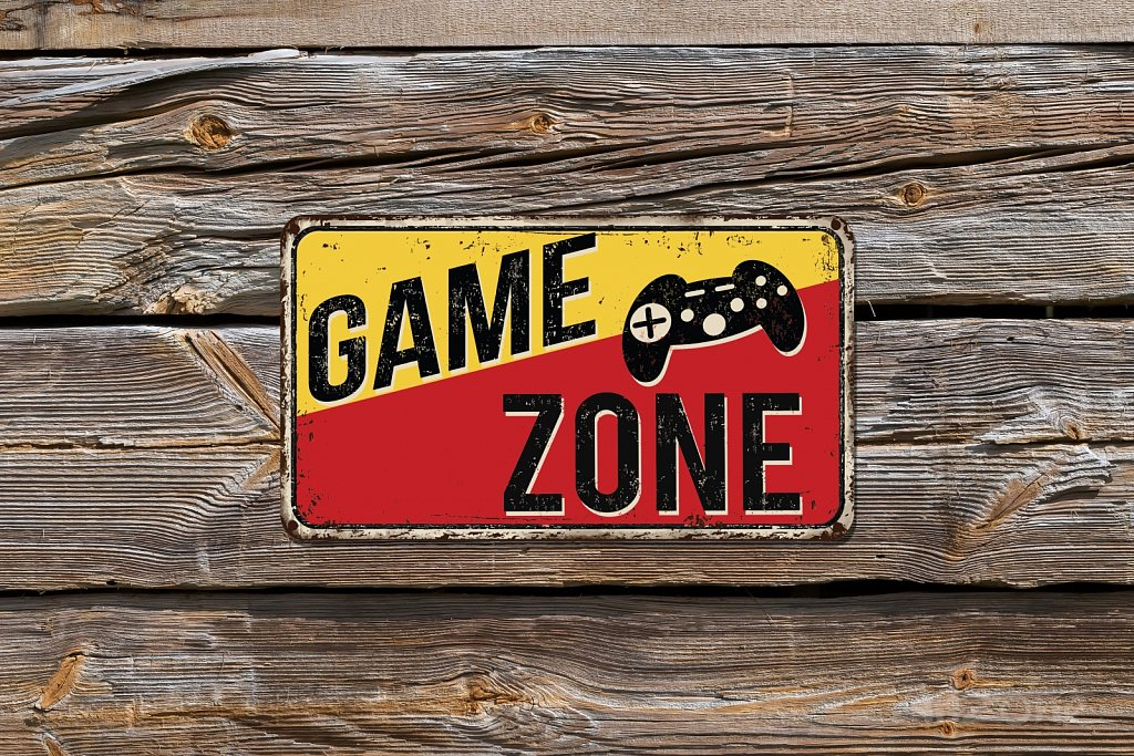 CAME zone sign