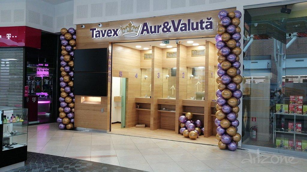 Светеща табела за нов клон на ТАВЕКС в Букурещ