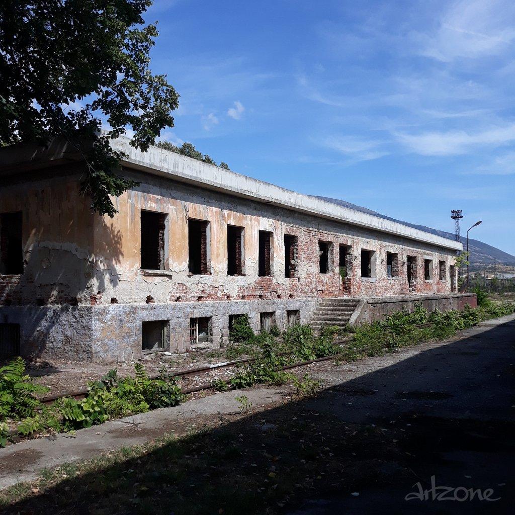 Сграда за обличане с винил