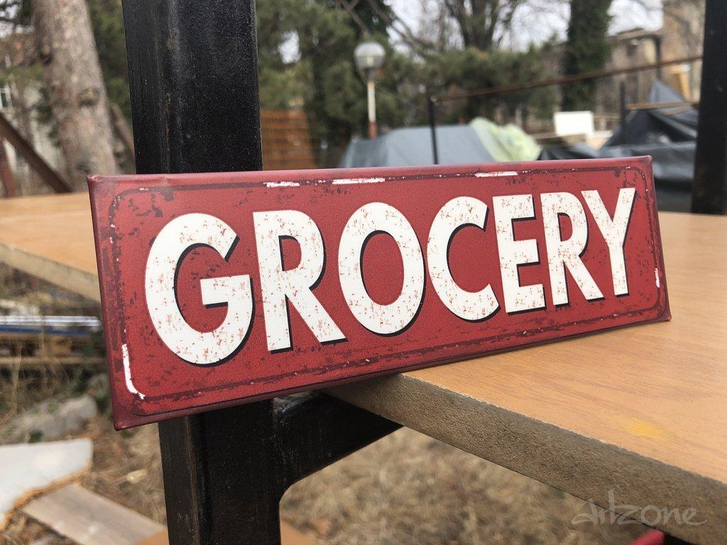 Grocery табела за хранителни стоки