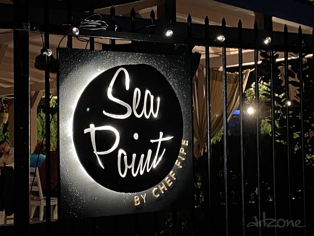 Светеща фирмена табела Sea Point